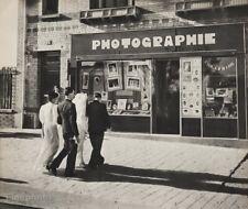 1947 Original Robert Doisneau Photography Store Wedding Couple Street Photo Art