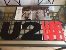 "U2: War Special Limited Edition 12"" x 12"" Foldout CD & Book Promotional Set"