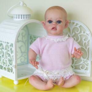 Cute Reborn Dolls Soft Silicone Full Body Mini Doll Children Gift Without cloth