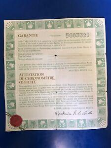 Original Vintage  Rolex 16030 Watch -  Blank Certificate Guarantee 5683321 Xx
