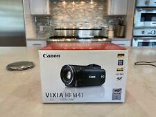 Canon Vixia HFM41 1080 Full HD Video Camera