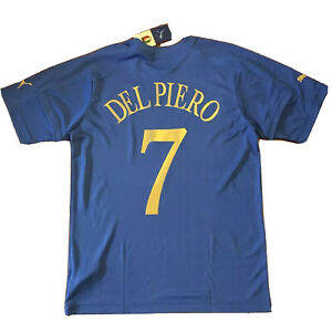 2004/05 Italy Home Jersey #7 Del Piero XL Soccer Azzurri Italia Puma NEW
