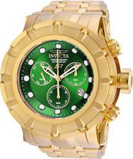 Invicta Men's 23956 S1 Rally Quartz Chronograph Green Dial Watch