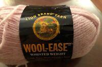 Lion Brand #620 Wool Ease Yarn Blush Heather