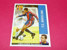 ABELARDO FERNANDEZ FC BARCELONA PANINI LIGA 95-96 ESPANA 1995-1996 FOOTBALL