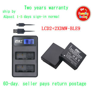 LCD2+2XDMW-BLE9 BLE9E BLG10E BLG10 for DMW-BLE9 BLG10 GF3 GF6 GX7 LX100 AU-ship