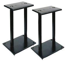 "Pylepro Pstnd18 Speaker Stand - 35 Lb Load Capacity - 13"" Height - Black - Steel"