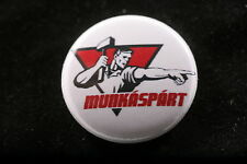 """Hungarian Workers Party  Munkaspart Communist 1"""" Badge Pin Button Gyula Thurmer"""