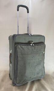 """Briggs & Riley U524NX-7 Green Nylon 24"""" Wheeled Garment Expandable Luggage Bag"""