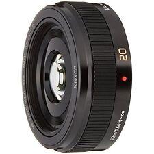 Panasonic H-H020A-K Lumix G 20mm F1.7 II ASPH. Lens Black NEW Japan new.