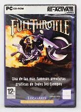 FULL THROTTLE - PC ORDENADOR - ESPAÑA - NUEVO PRECINTADO - LUCASARTS