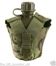 Kombat BTP US style water bottle & pouch MOLLE fixings compliments MTP /Multicam