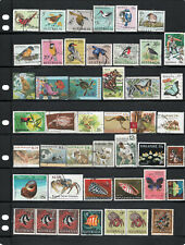 Animals stamp collection. Australia, PNG, NZ, Libya, Singapore. Free post Aust.
