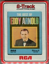 Vintage Sealed The Best of Eddy Arnold 8 Track Cartridge Stereo 8 RCA P8S-1185