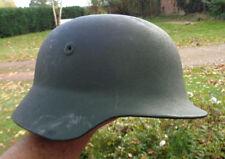 Casco original casco de acero policía bgs como tras Wermacht 45