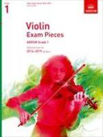 ABRSM: Violin Exam Pieces 2016–2019 - Grade 1 (Score & Part) Violin, Piano Accom
