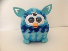 2012 Hasbro Furby Boom Blue Waves Turquoise White Tested & Works