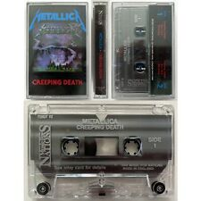 METALLICA Creeping Death - RARE Cassette Tape EP Music For Nations 1984