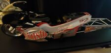 Action NHRA two Angelle Sampey Winston Pro Stk Motorcycle 2001 w Autograph