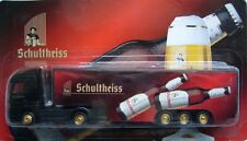 Schultheiss Brewery / german beer truck, Mercedes with trailer, Scale 1:87/HO