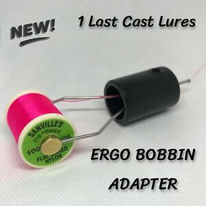 ERGO BOBBIN ADAPTER Fly Tying Bobbin Holder 1 Last Cast Lures ergo bobbin NEW