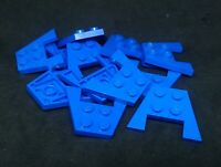 Lego Wing Double 4x3 [4859] Blue x12