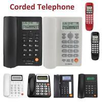 Corded Telephone Landline Desktop Home Office Hotel Phone Caller ID LCD Display