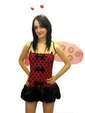 Sexy Lady Bird/Lady Bug Fancy Dress Costume 5 Pcs 8-12