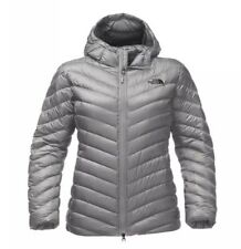 NWT The North Face Women's Trevail hood Parka Winter Down Jacket Grey XS