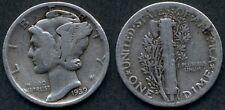 USA Mercury Dime AG 1939