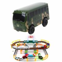 Electric Bus Rail Car Special Track Toys for Kids Children's Educational Toys