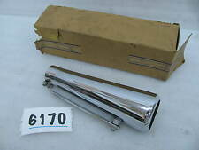 NOS Wassell Motorcycle Silencer exhaust pipe Muffler Chopper Bobber old School 4