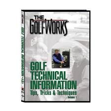Golf Equipment - Tips, Tricks & Techniques DVD