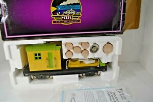10-2002 Work Caboose MTH Tinplate Traditions 200 Series Standard Gauge Freight