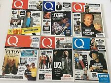 Vintage Q Magazine Early Editions 10 12 12a 14 15 1987 Plus December 86 Music