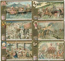 Chromo Liebig Sang. 626 ITA Feste di Napoli ANNO 1900