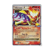 INFERNAPE LV.X LVX DP10 Ultra Rare Black Star Promo Holo Pokemon Card EXLNT/LP