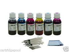 Bulk ink Refill kit for hp 02 C7280 C8180 D7145 6x4oz