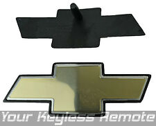 New OEM Bow Tie Gold Black Medallion Emblem Logo Grille Front For Chevy