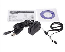 Mini300 Portable Magnetic Magstripe card Reader Collector Smallest Swipe 3Tracks