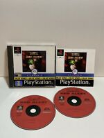 SONY PS1 GAME COMMAND & CONQUER RED ALERT 2 DISCS  PLAYSTATION 2 PS2 BATTLE