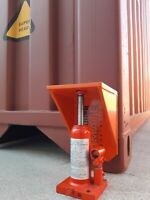 Shipping Container Jack Clip-On Lifter Jack & Levelling Jack Attachment