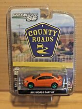 GREENLIGHT GREEN MACHINE COUNTY ROADS 2013 DODGE DART GT #0060