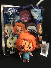 Universal Vault Horror Movie Figure Bag Clip - Chucky Movie Good Guy Doll  NWT