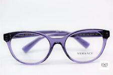Versace VE 3250 5160 Transparent Purple New Authentic 54