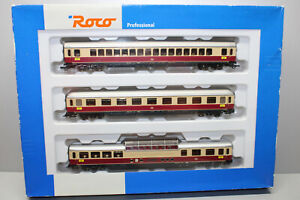 Roco 45902 Personenwagen-Set TEE Rheingold 3-teilig Ep IV Spur H0 OVP