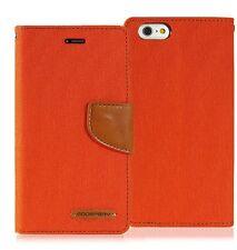 GOOSPERY® Shock Resistant Slim Flip Leather Wallet Case for iPhone Galaxy S8 LG