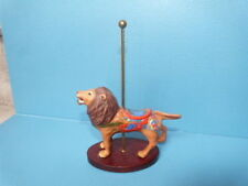 1988 Franklin Mint Fm Tfm Treasury Of Carousel Art Porcelain Figurine Lion