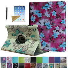 For Old iPad 2 3 4 (2011-2012) 360 Rotating Case Cover Stand Magnetic Sleep/Wake
