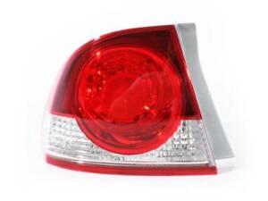 LHS Tail Light Honda Civic 06-08 FD Series1 Sedan Red & Clear ADR COMPLIANT